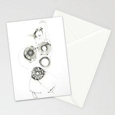 Danseuse Spiral Stationery Cards