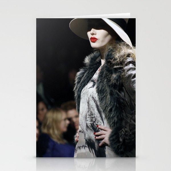 Lady Lips Stationery Cards