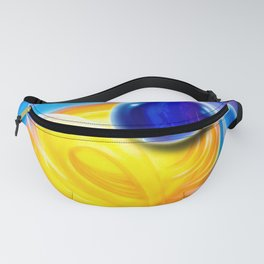 Abstract perfection - Circle Fanny Pack