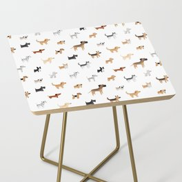 Lots of Cute Doggos Side Table