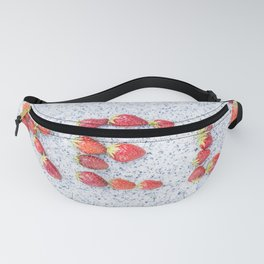 Red strawberries Fanny Pack