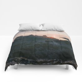 Midnight Sun - Landscape and Nature Photography Comforters