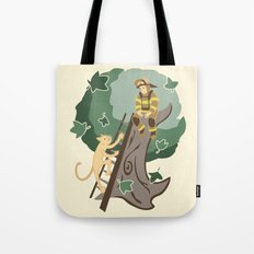 Stuck in a Tree Tote Bag