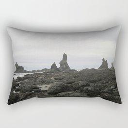 end of the world Rectangular Pillow