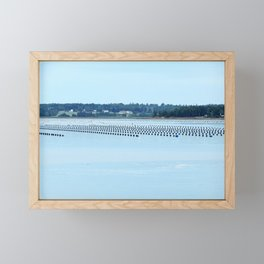 Growing Food with Tides Framed Mini Art Print