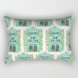 The Grotto – Mint Palette Rectangular Pillow