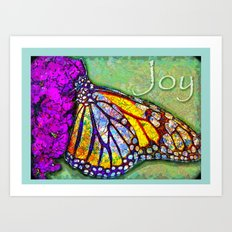 Butterfly Miracle Art Print