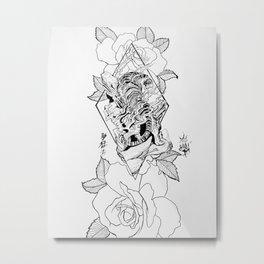 Tiger love Metal Print