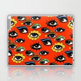 60s Eye Pattern Laptop & iPad Skin