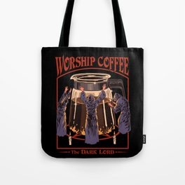 Worship Coffee Tote Bag