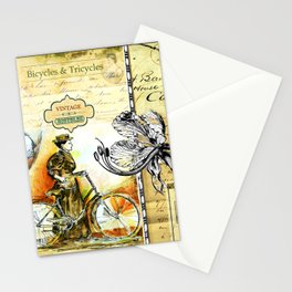 """""""Bicycles & Tricycles"""" - by fanitsa Petrou Stationery Cards"""