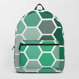 green shifts hex Backpack