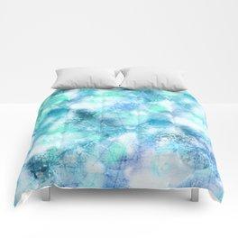 Cracked Geode Comforters