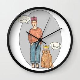 we rule! Wall Clock