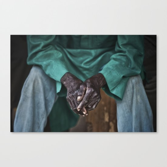 Toiled Canvas Print