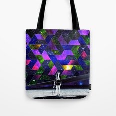 Waiting for a drive Tote Bag