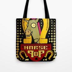 Horse Pop Tote Bag