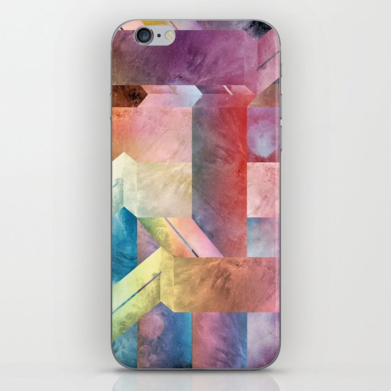space hipster iPhone & iPod Skin