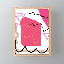 Red Bag I Framed Mini Art Print