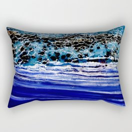 ...blurred line of horizons Rectangular Pillow
