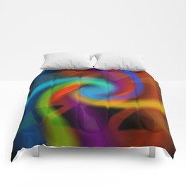Color magic Comforters