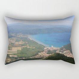 Akyaka and The Bay Of Gokova Photograph Rectangular Pillow