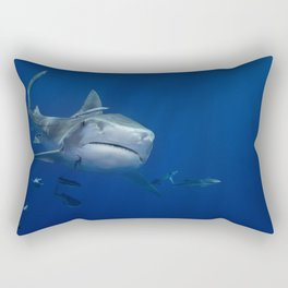 Tiger Shark 1 Rectangular Pillow