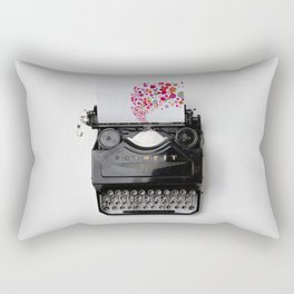 Typing Joy Rectangular Pillow