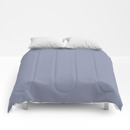 Gray-Blue - solid color Comforters