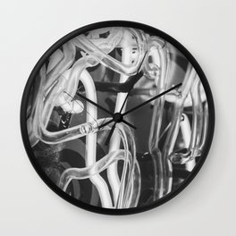 Vintage Neons Wall Clock