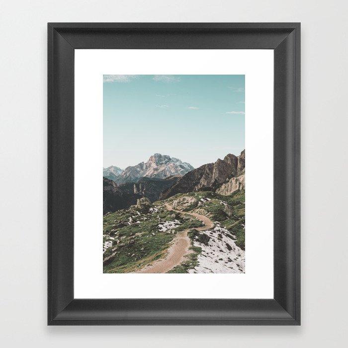 Italian Dolomites II Gerahmter Kunstdruck