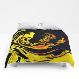 Golden Curves 3 Comforters