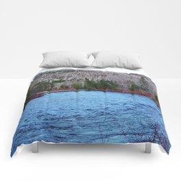 River in Nature Comforters