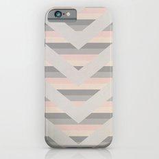 Grey/Pink Chev iPhone 6 Slim Case