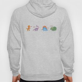 Potty Mouth Dinos Group Hoody