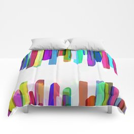 Colorful Stripes 3 Comforters