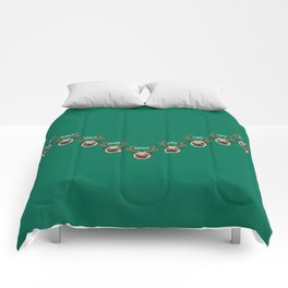 Rudolph And The Reindeers Comforters
