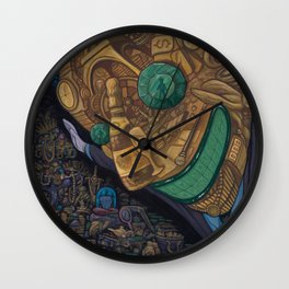 The Hard Sell Wall Clock