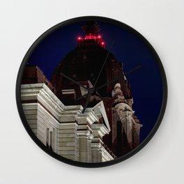 October Super Moon Wall Clock