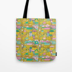Pattern Project #2 / Happy Town Tote Bag