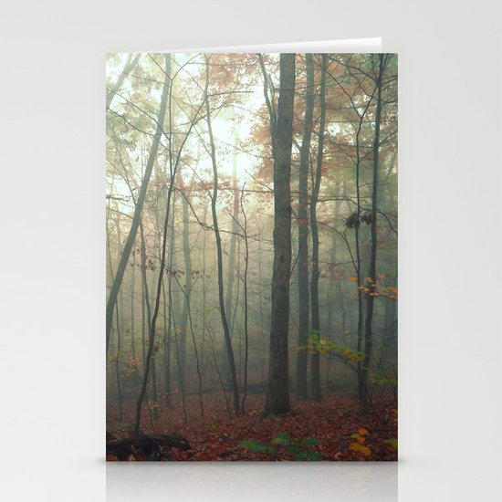 Wandering in a Fog Stationery Cards