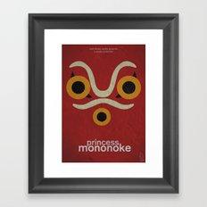 Princess Mononoke  Framed Art Print