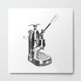 Romantica La Pavoni Professional Lever Espresso Machine Metal Print