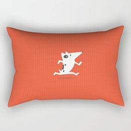 See Spot run Rectangular Pillow