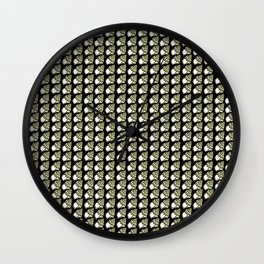 Aztec Shell Wall Clock