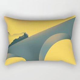 Ribblehead Viaduct Yorkshire Rectangular Pillow