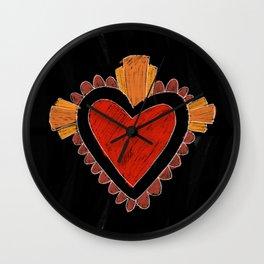 Black love Wall Clock