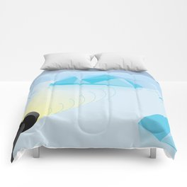 """""""How To Clock a Glacier"""" by Francesco Izzo for Nautilus Comforters"""