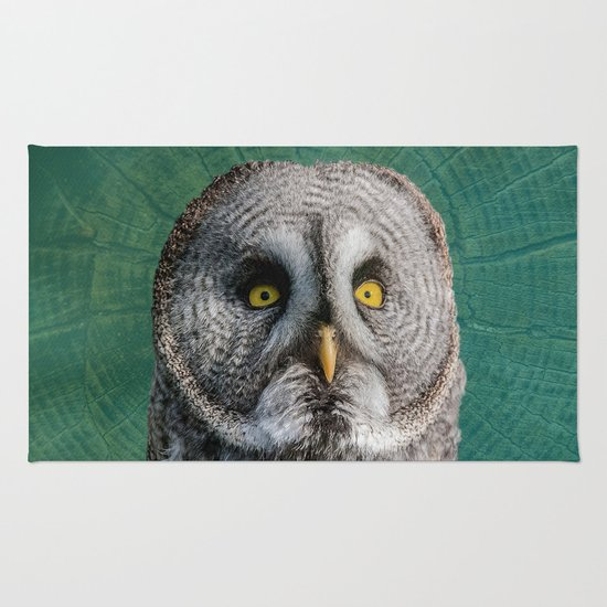 GREY OWL Rug