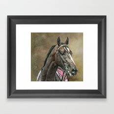 Racing Thoroughbred Framed Art Print
